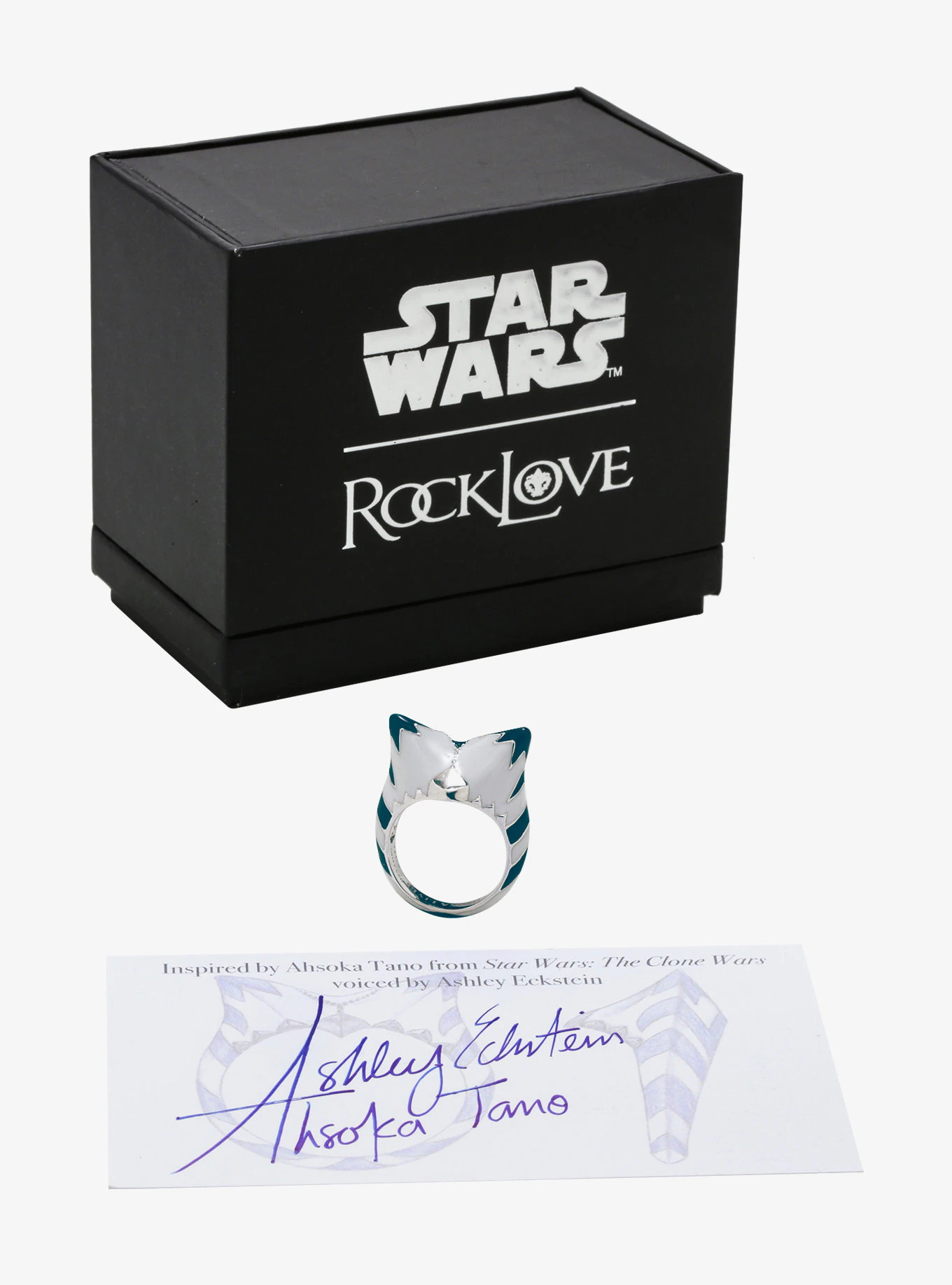 RockLove x Star Wars Ahsoka Tano Ring at Her Universe