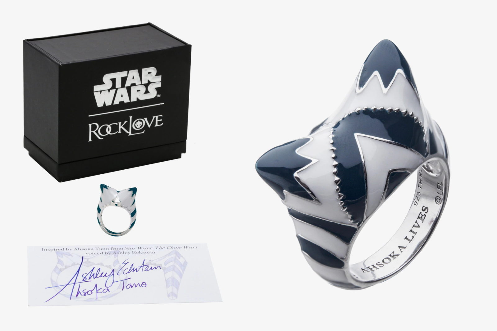 RockLove Ahsoka Ring at Her Universe!
