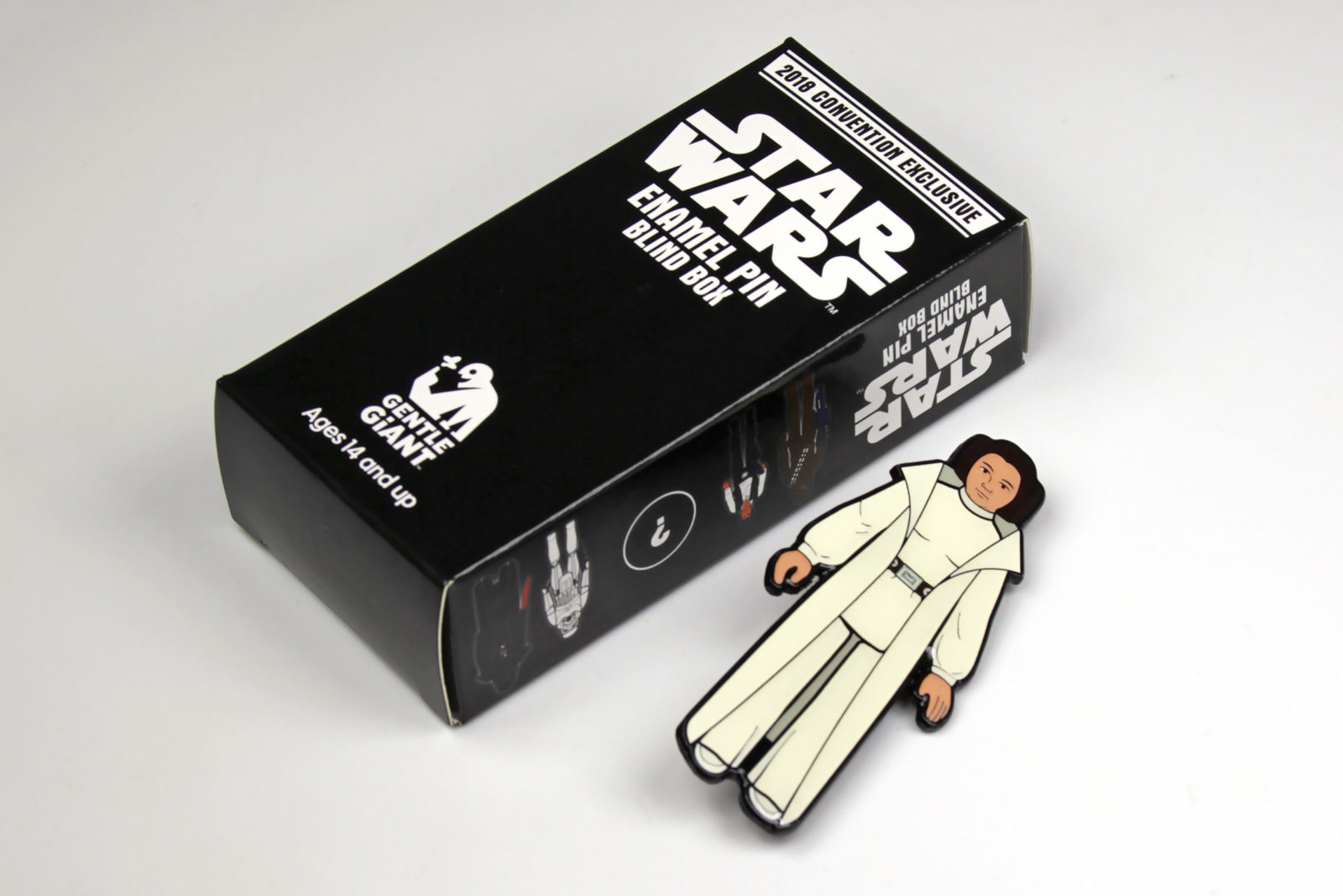 Princess Leia Vintage Action Figure Pin, by Gentle Giant