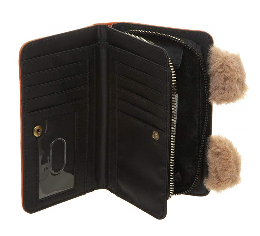 Bioworld x Star Wars Ewok Clutch Wallet on Amazon
