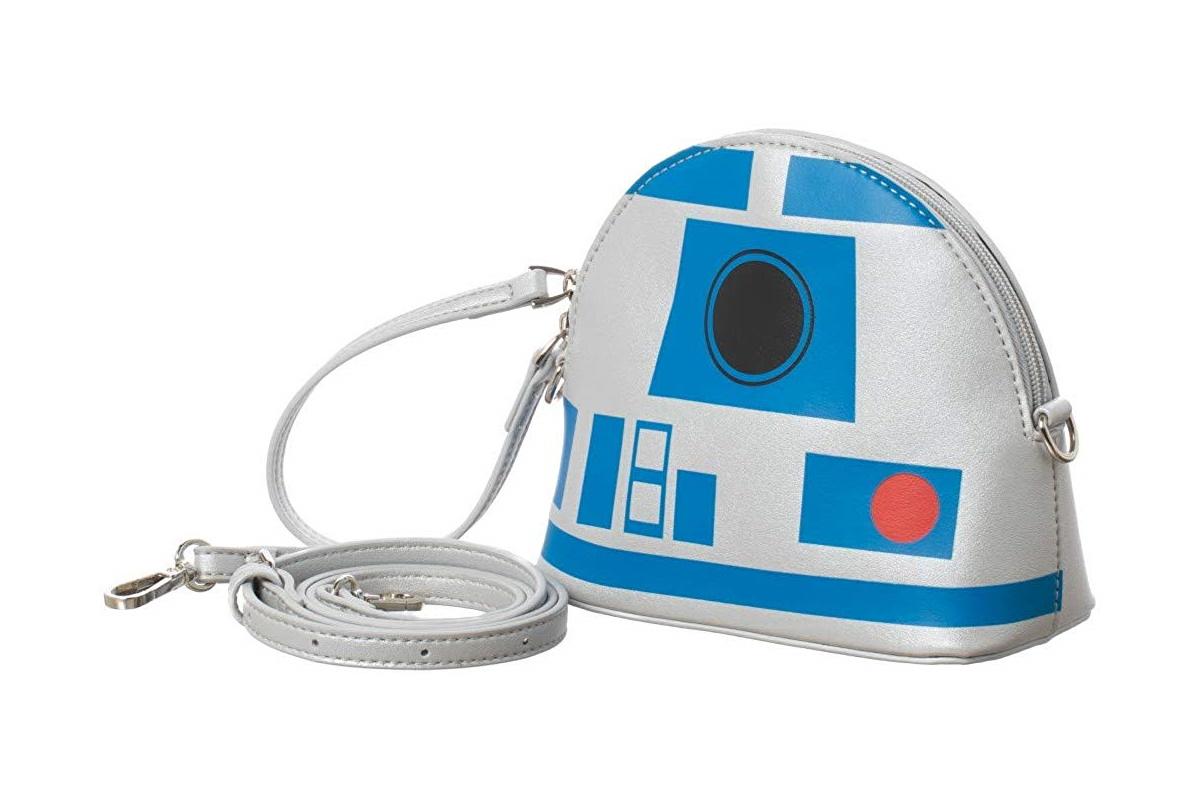 Bioworld x Star Wars R2-D2 Crossbody Handbag Purse on Amazon