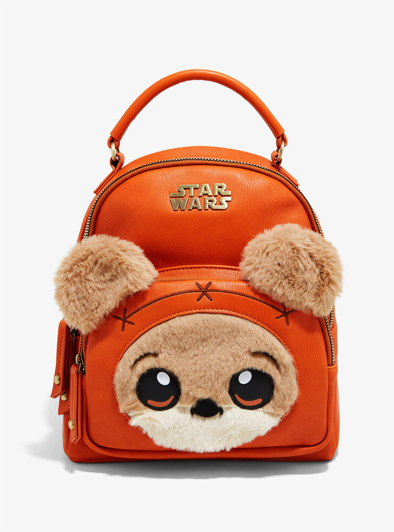 Star Wars Ewok Furry Mini Backpack at her Universe