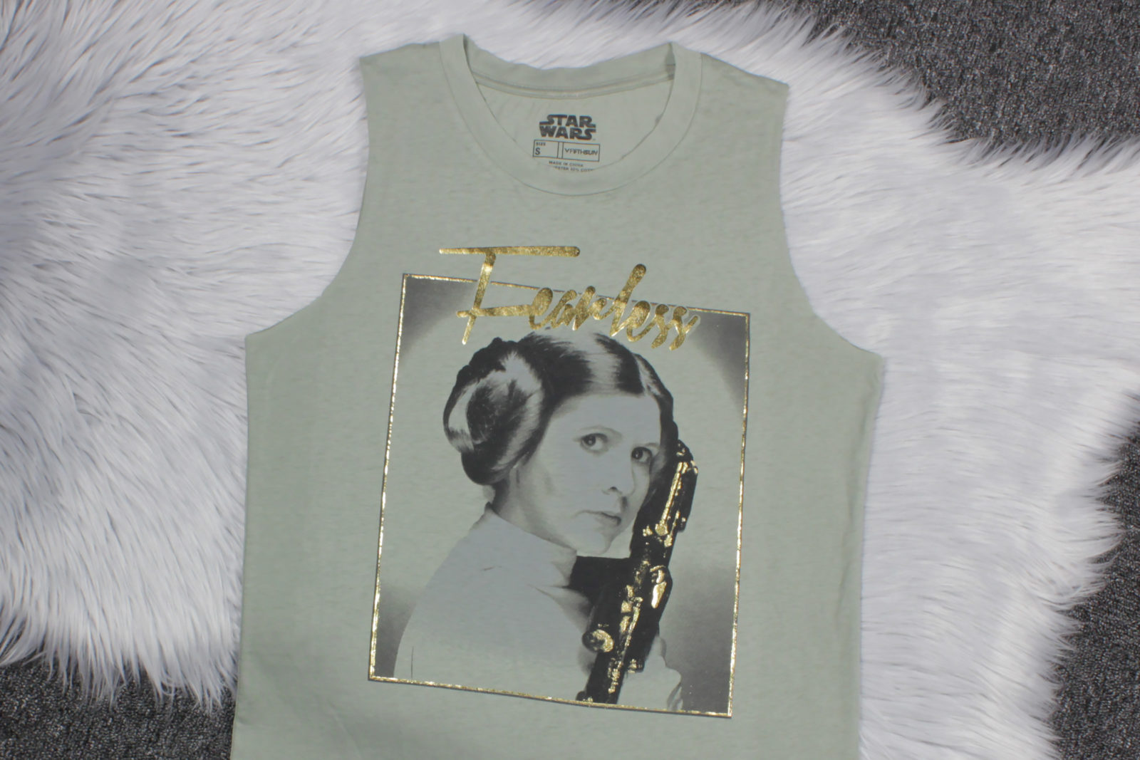 Star Wars Princess Leia Tank Top by Fifth Sun