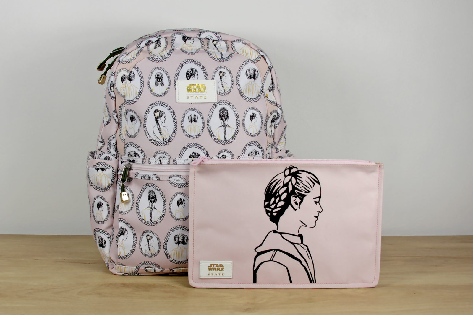 State Bags x Star Wars Princess Leia Backpack and Clutch
