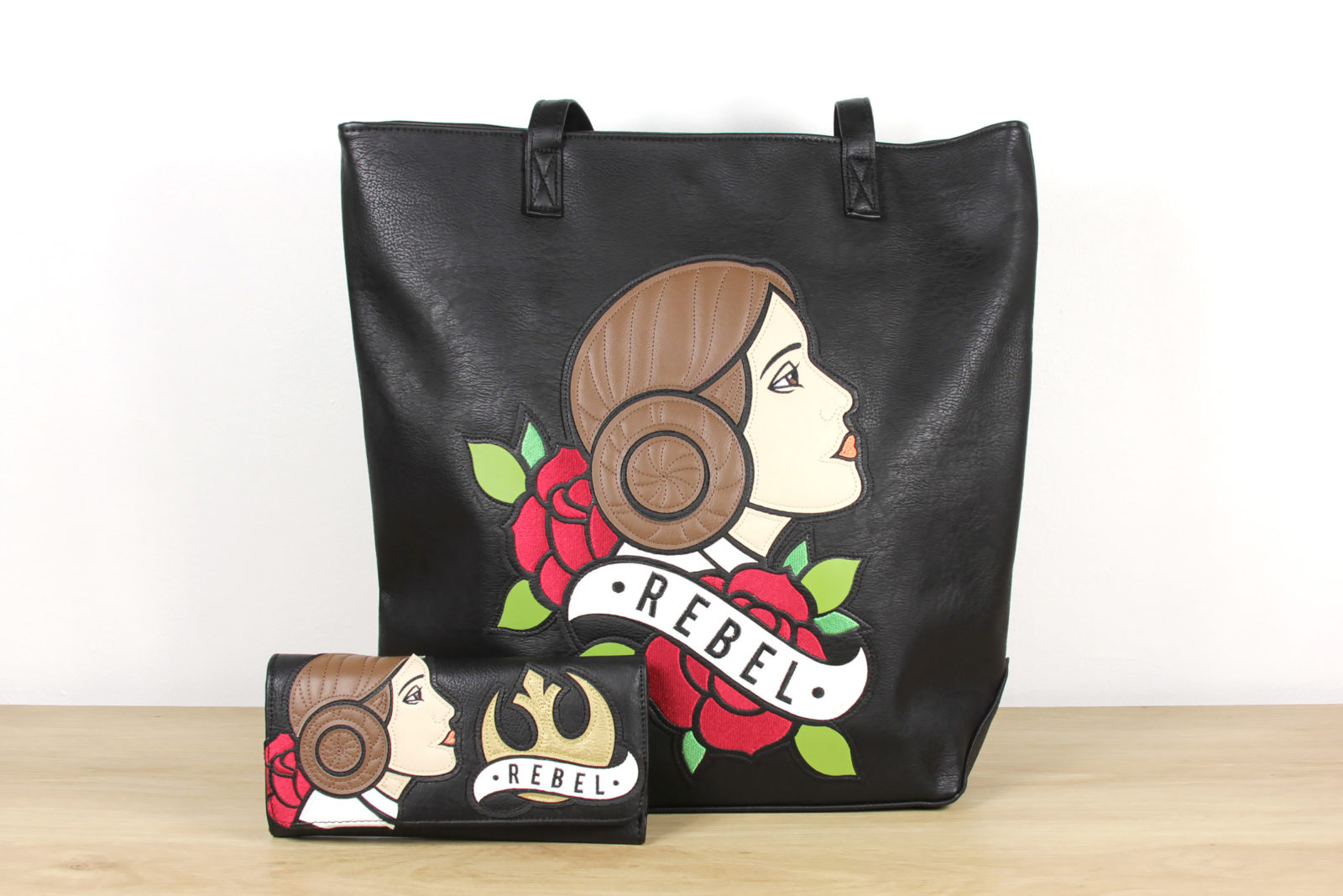 Loungefly x Star Wars Princess Leia Tote Bag and Wallet