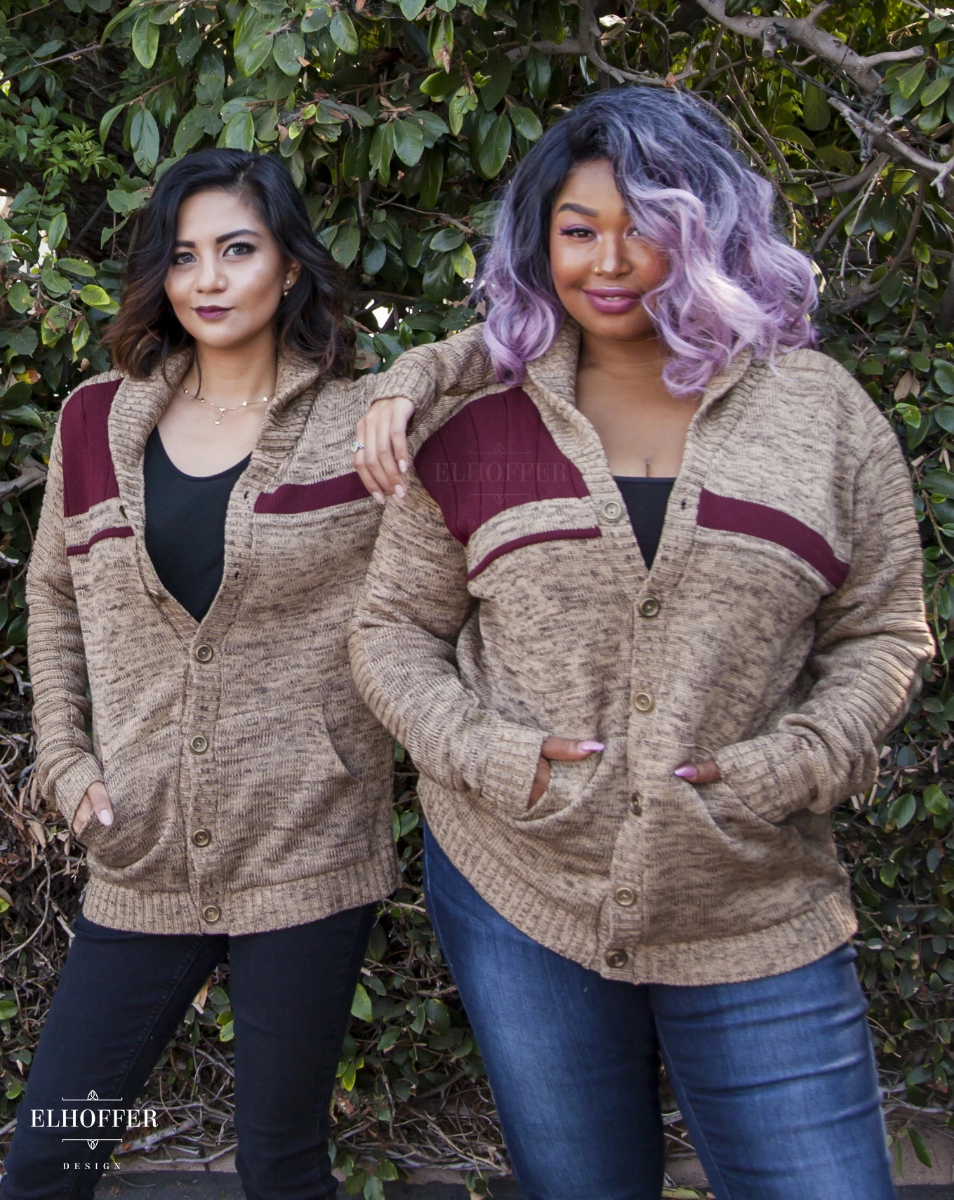 Star Wars Galactic Bromance Shawl Cardigan by Elhoffer Design
