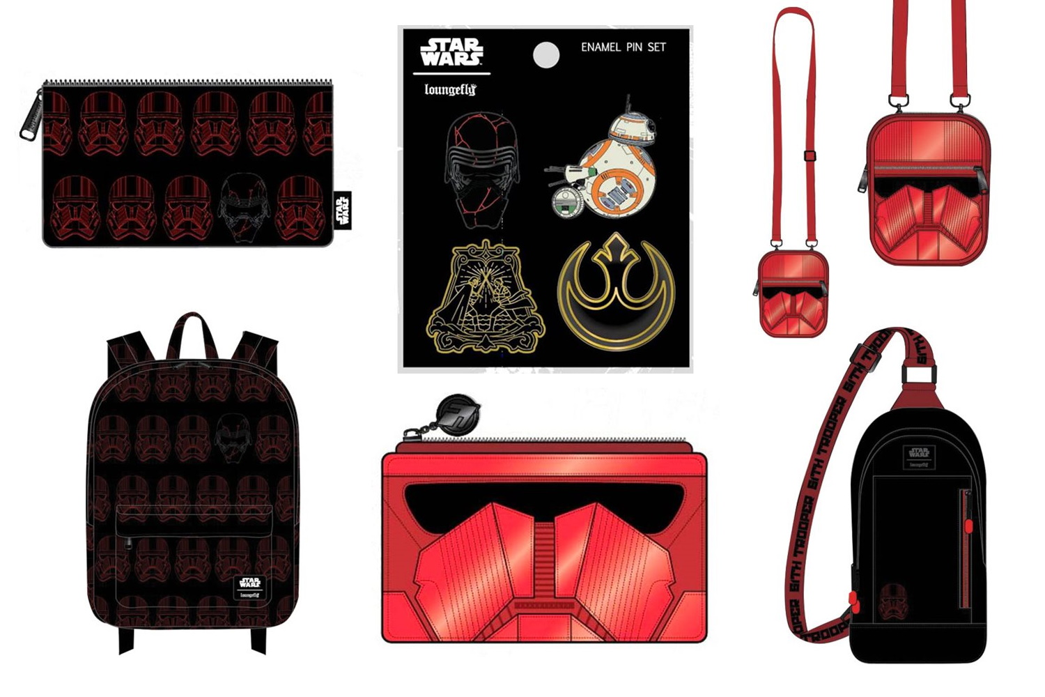 Loungefly Episode 9 Bags at Entertainment Earth