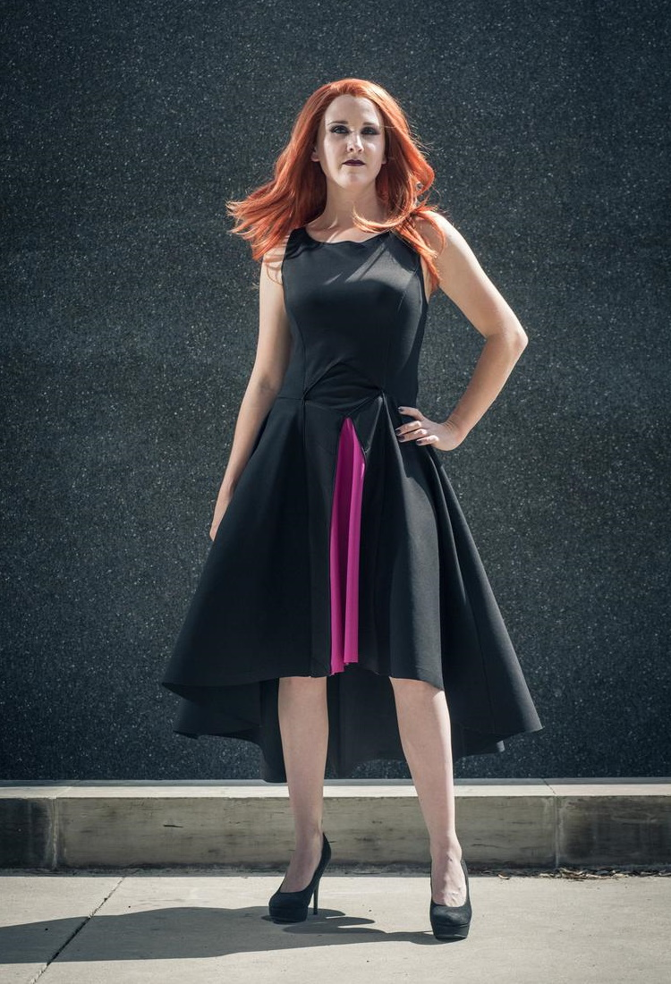 Star Wars Mara Jade Inspired Jaded Assassin Dress by Etsy Seller Geekanista5