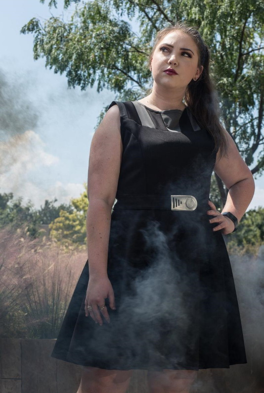 Star Wars Darth Vader Inspired Lady Darkside Dress by Etsy Seller Geekanista5