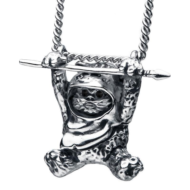 RockLove Jewelry x Star Wars Wicket Ewok Necklace