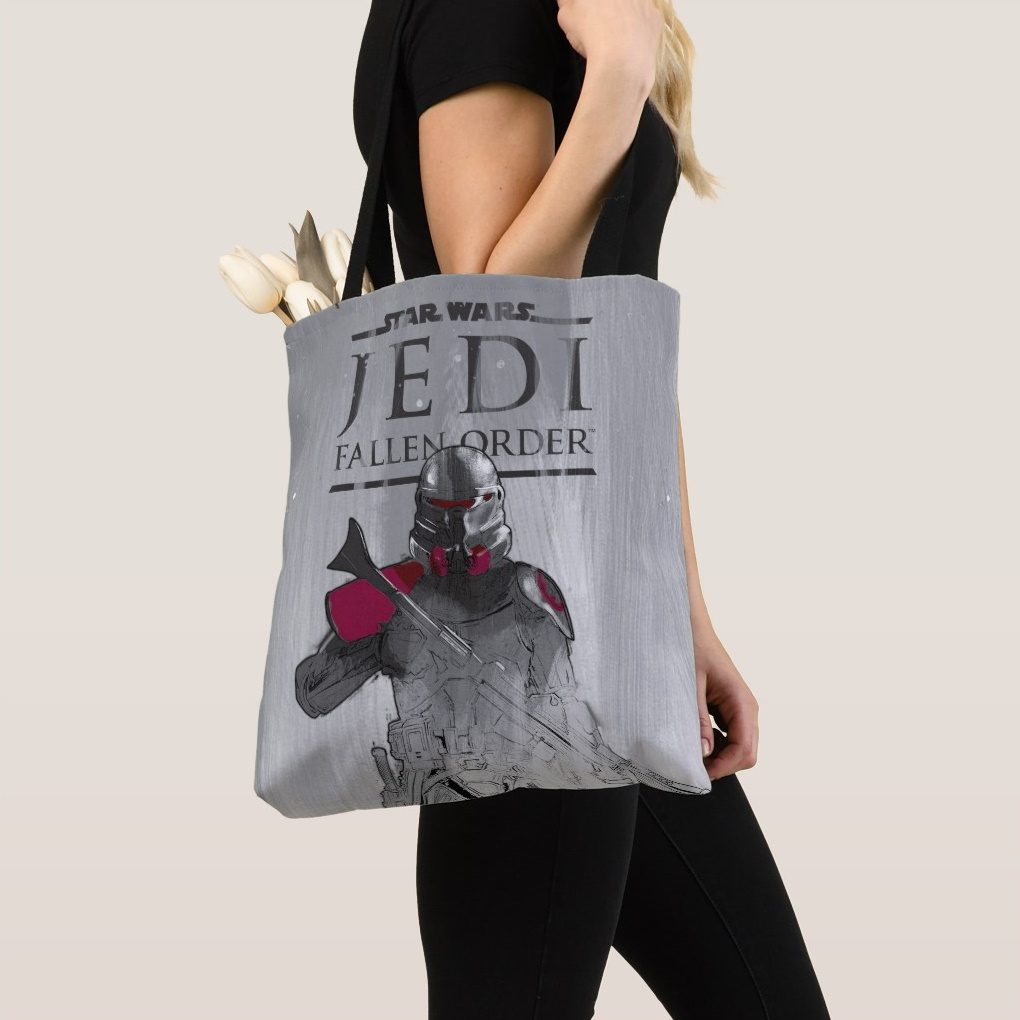 Star Wars Jedi Fallen Order Tote Bag from Zazzle at Shop Disney