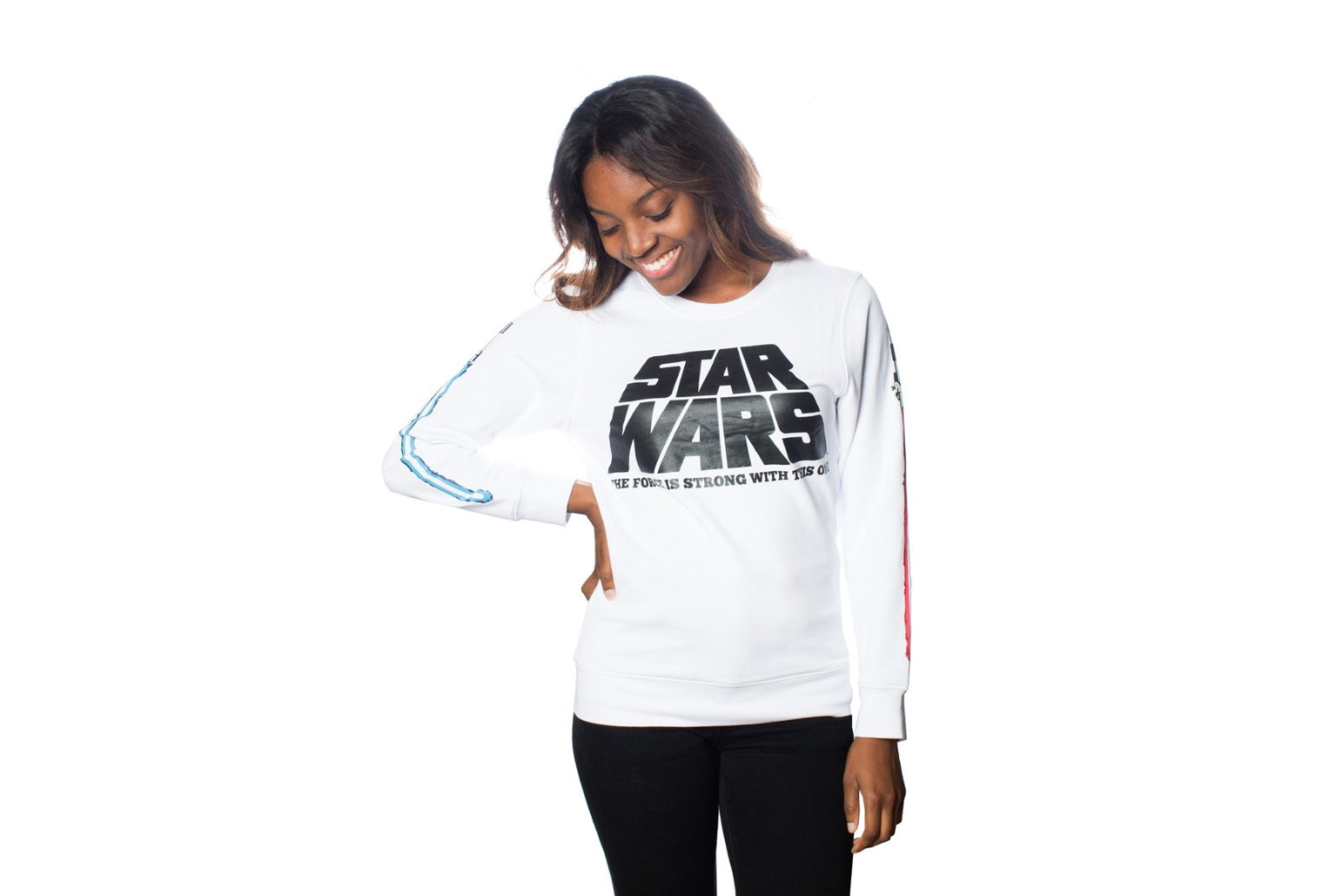 Cakeworthy x Star Wars Lightsaber Pullover Sweater