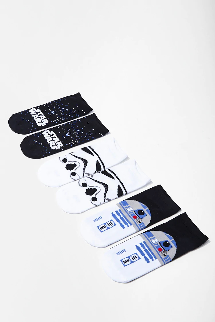 Star Wars Ankle Sock 3 Pack at Forever 21