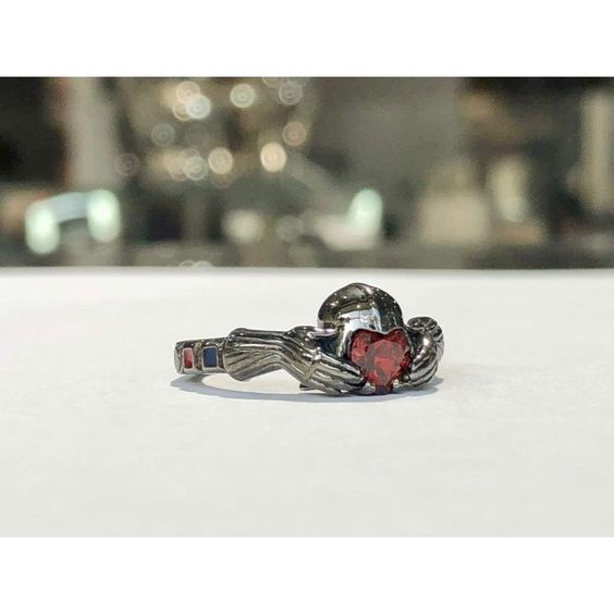 Star Wars Darth Vader Claddagh Jewelry Set by Paul Michael Design at Geek.Jewelry