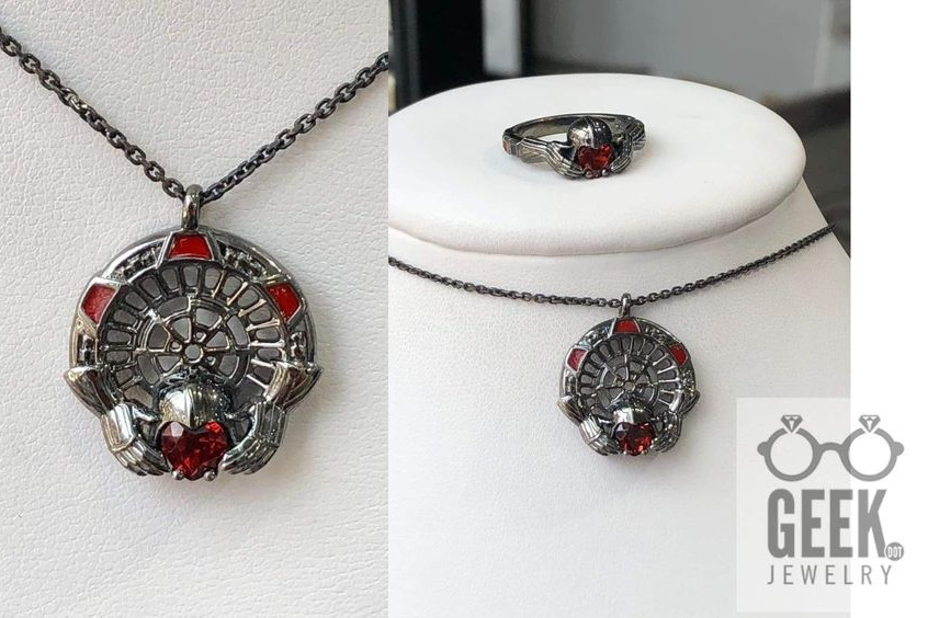 Darth Vader Inspired Jewelry by Geek.Jewelry