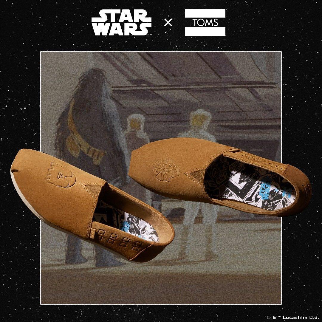 Women's Toms x Star Wars Chewbacca Classics Flats