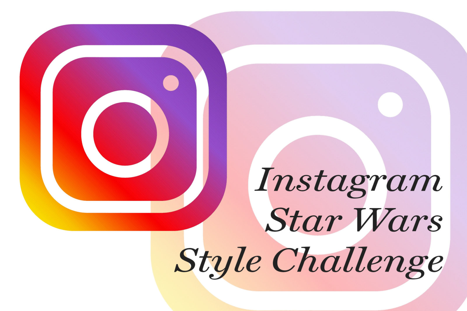 Star Wars Style Challenges on Instagram