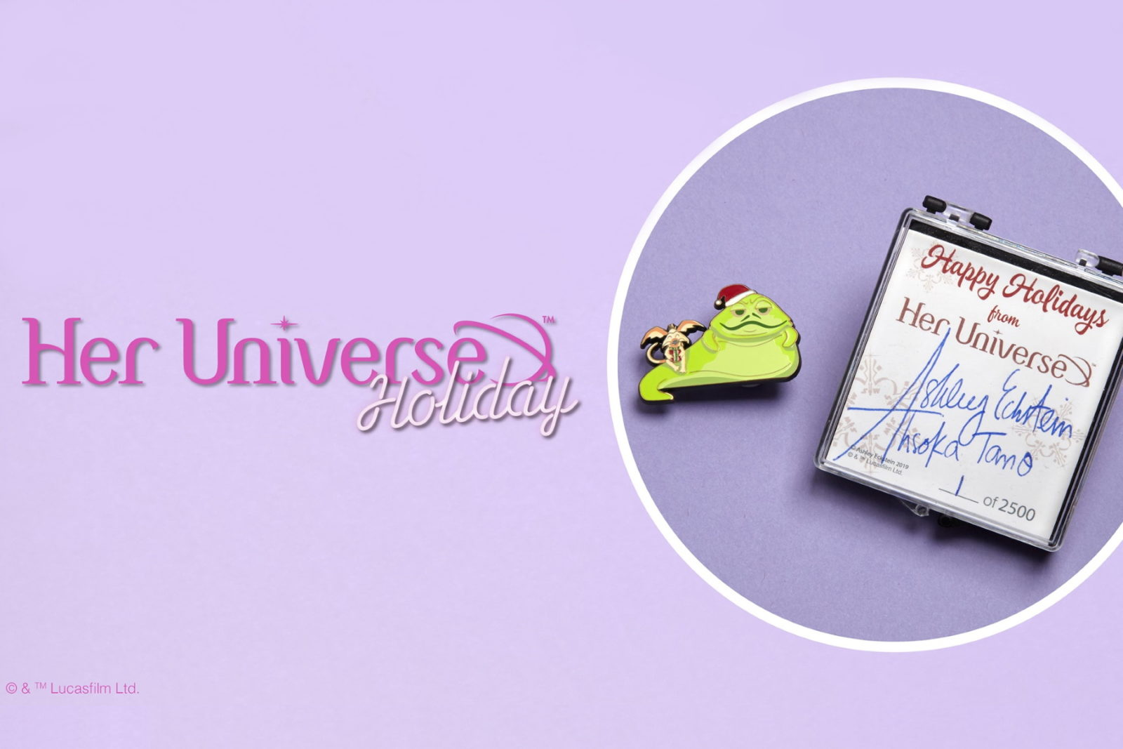 Her Universe Star Wars Holiday Pin 2019