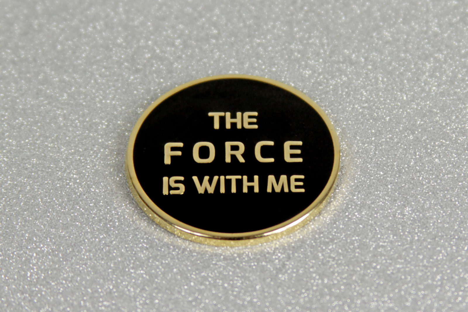 'The Force Is With Me' Button
