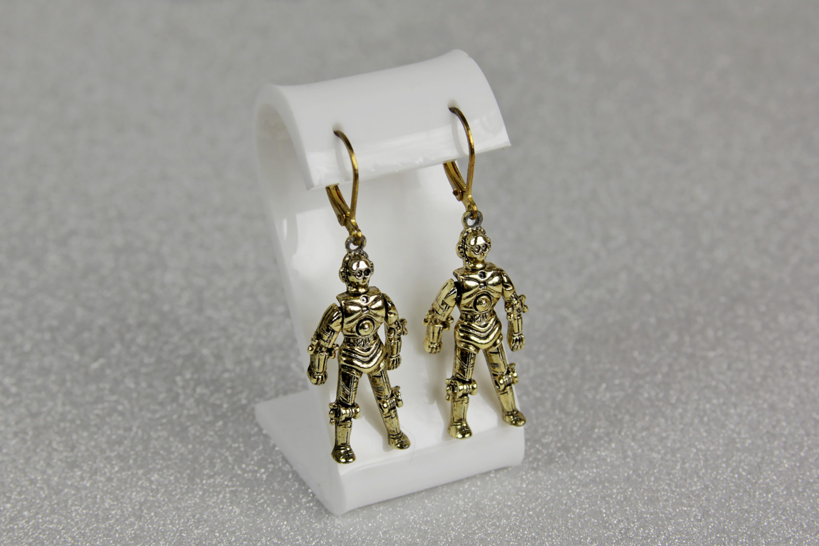 Vintage C-3PO Earrings