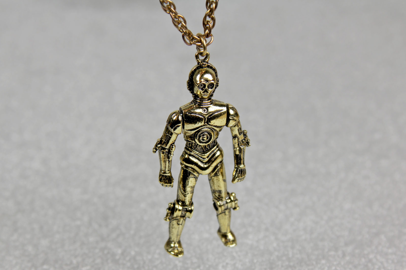 Vintage C-3PO Necklace