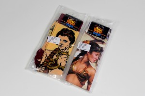 Review – Slave Leia socks