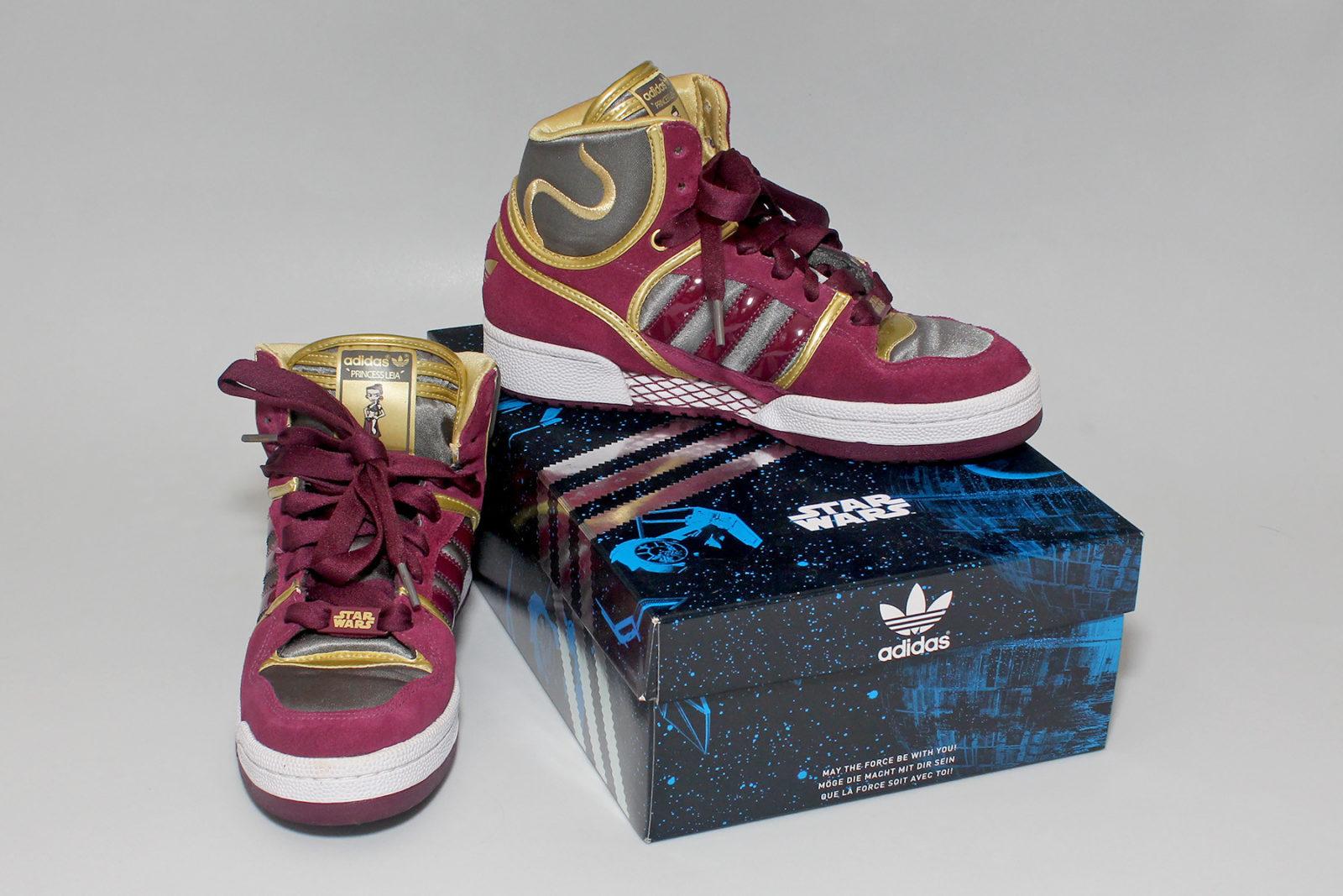 Women's Adidas x Star Wars Princess Leia sneakers