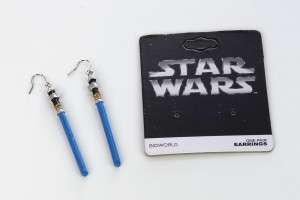 Review – Bioworld lightsaber earrings