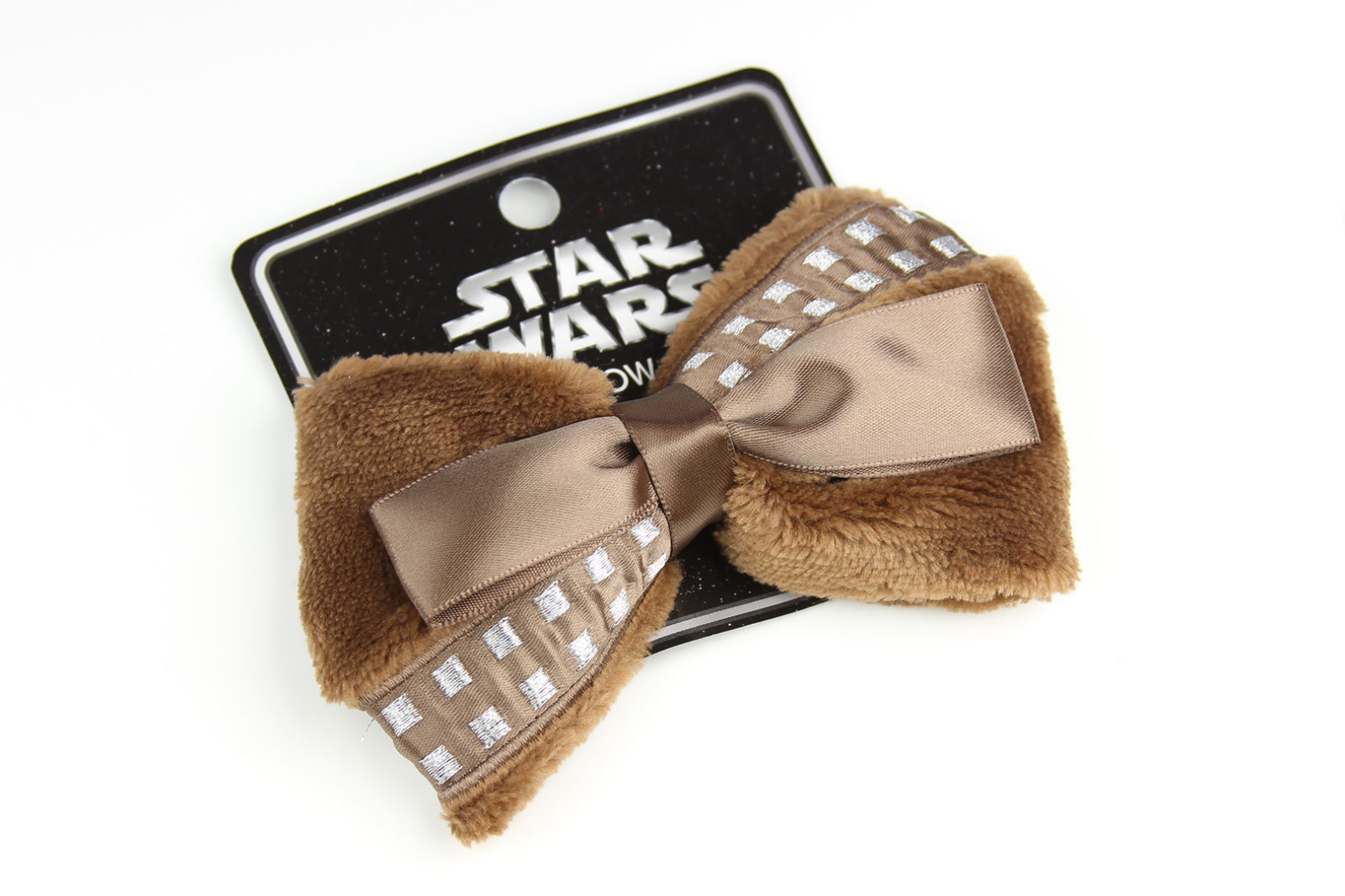 Loungefly x Star Wars Chewbacca faux fur cosplay style hair bow