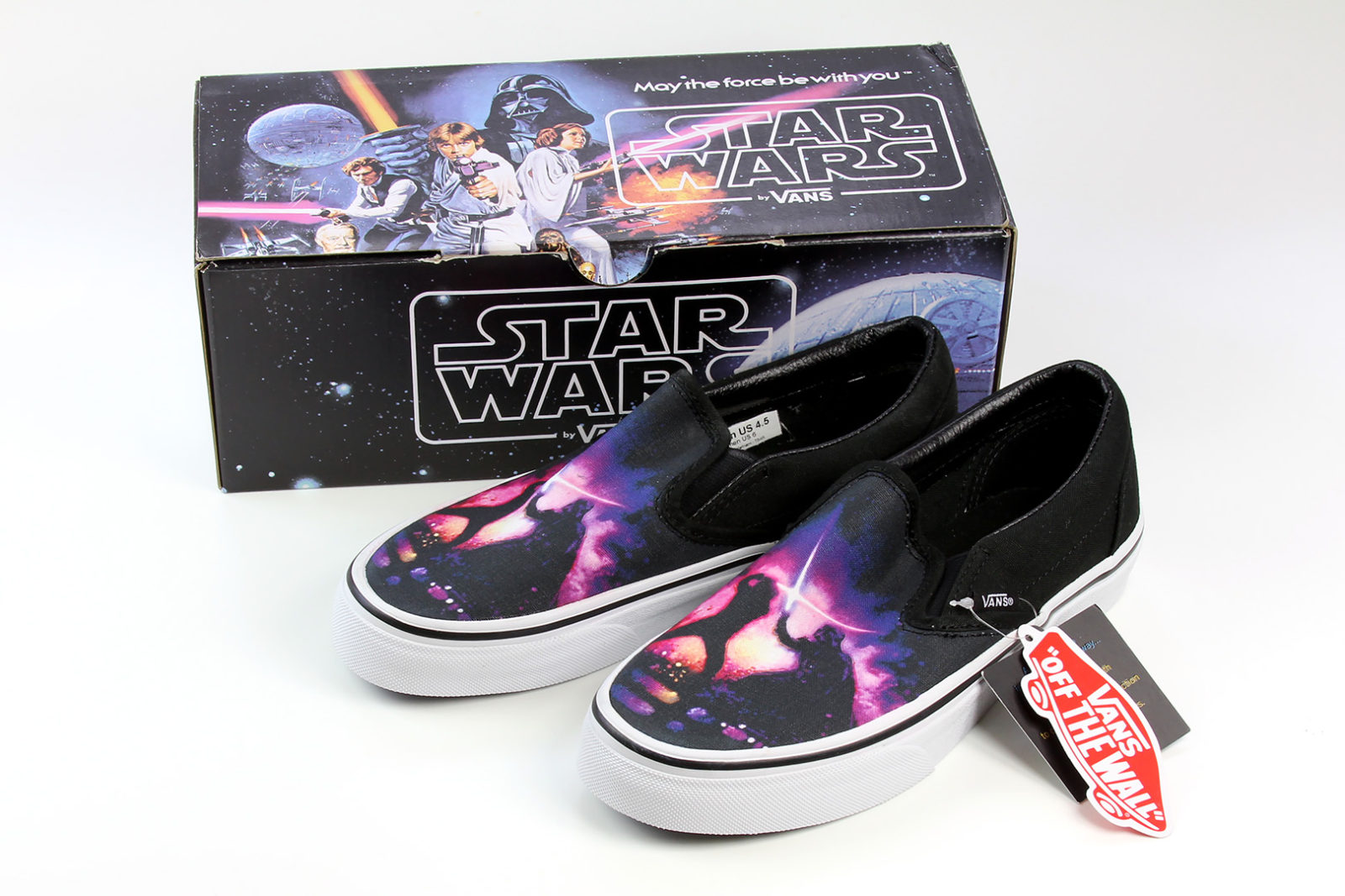 Review – Vans x Star Wars shoes