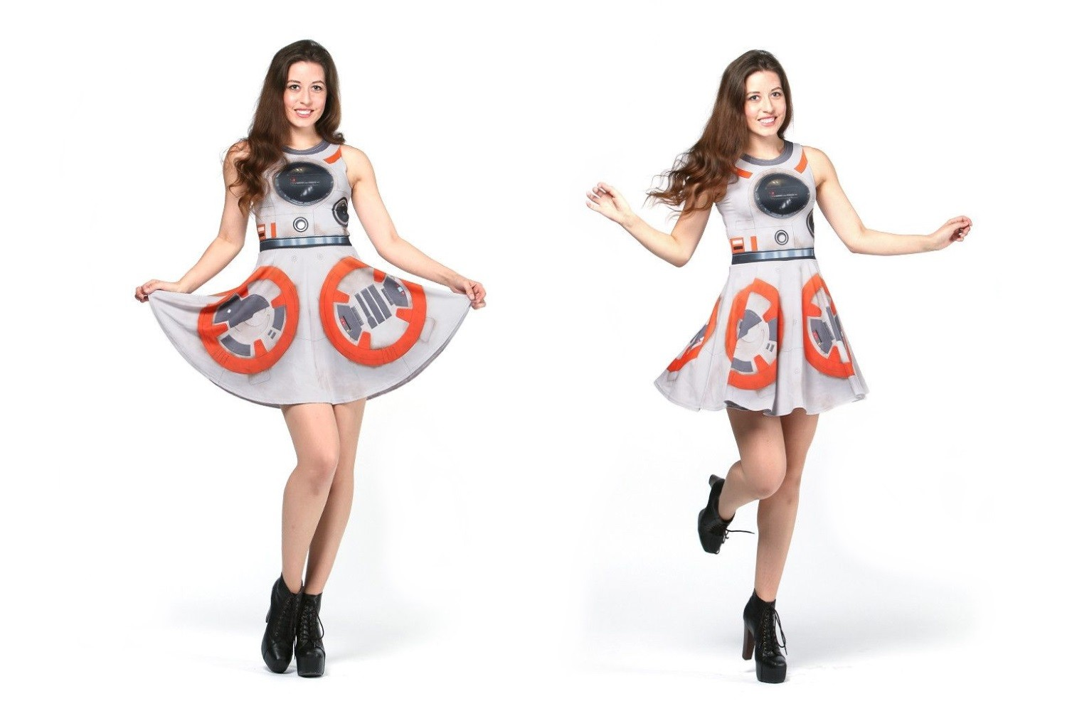 New BB-8 dress from Gold Bubble Clothing