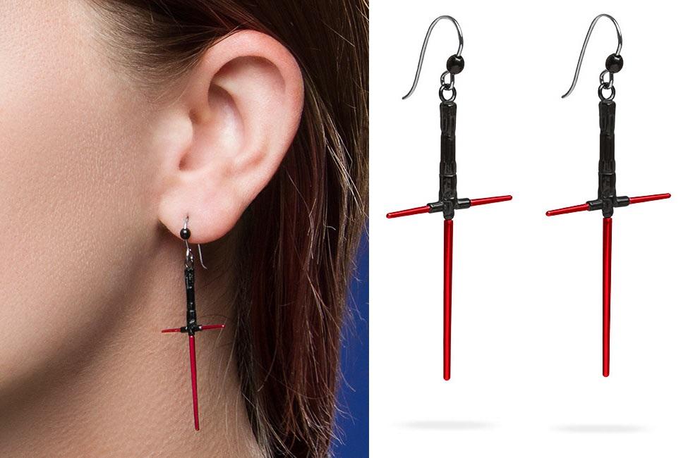 New Star Wars earrings at Thinkgeek