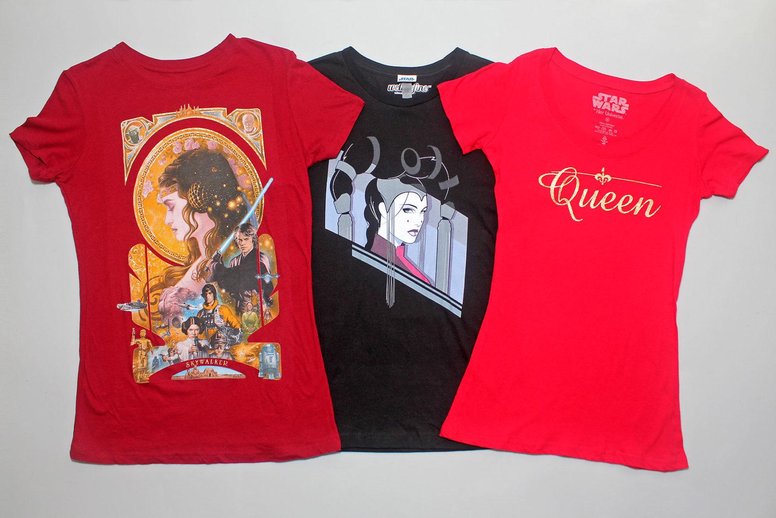 Queen Amidala-inspired Fashion
