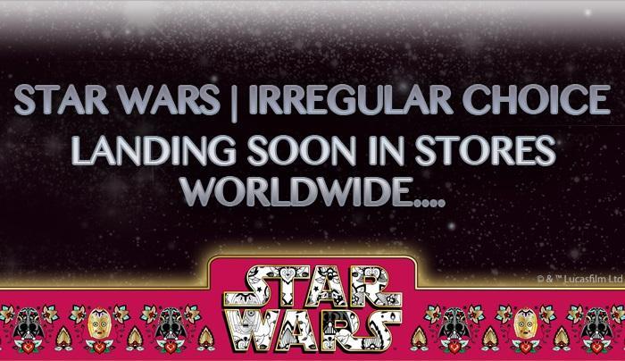 Irregular Choice x Star Wars release countdown