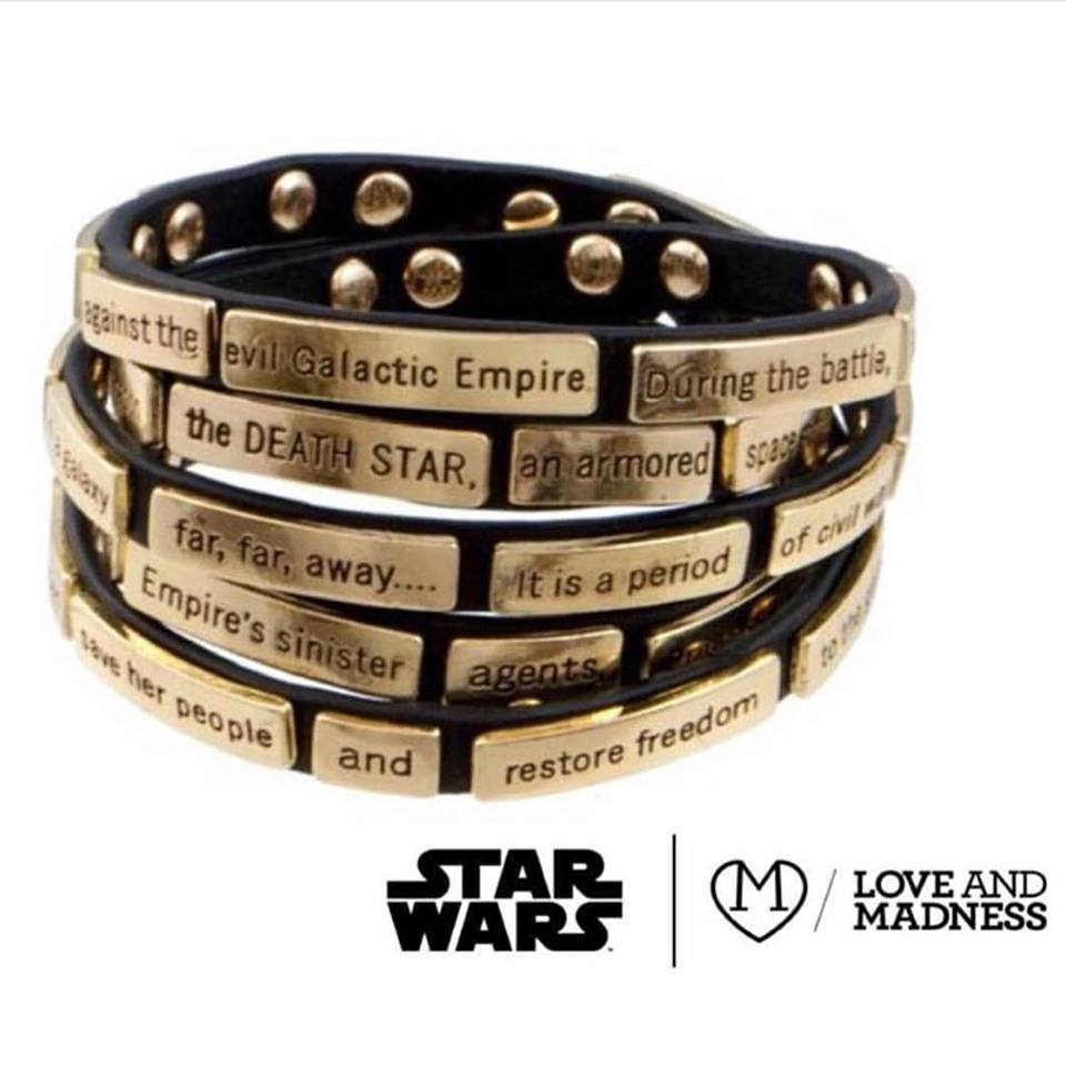Love And Madness wrap bracelet