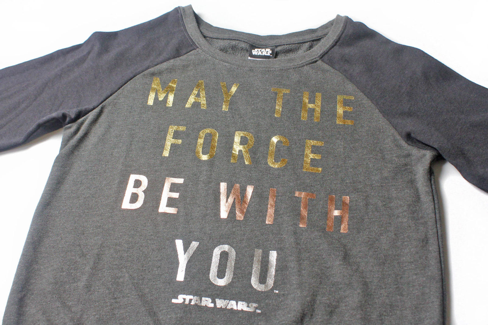 Women's 'May The Force Be With You' sweatshirt