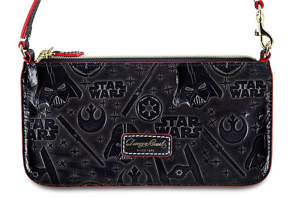 Disney Store - Dooney & Bourke x Star Wars embossed leather wristlet