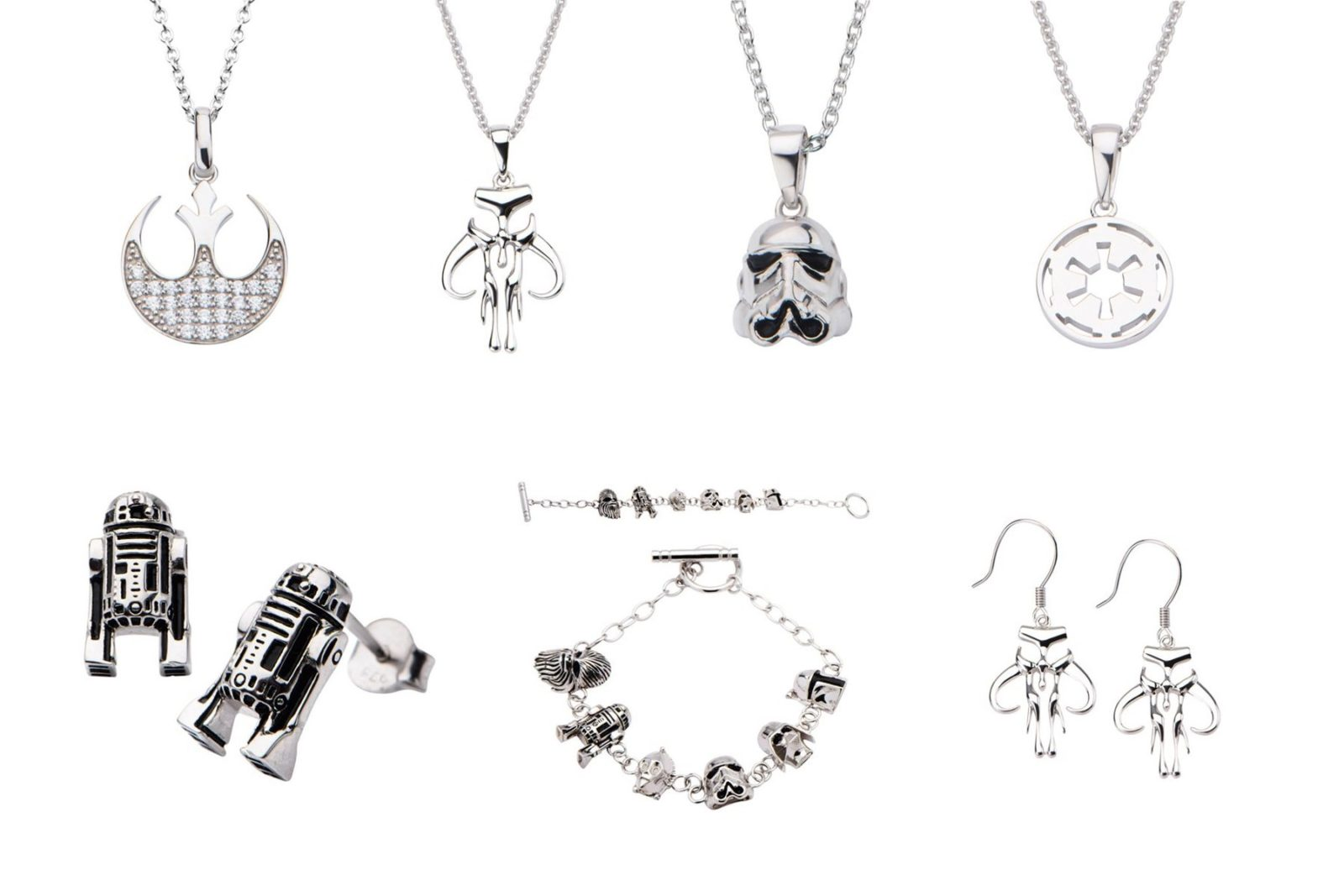 Entertainment Earth - Body Vibe x Star Wars sterling silver jewelry