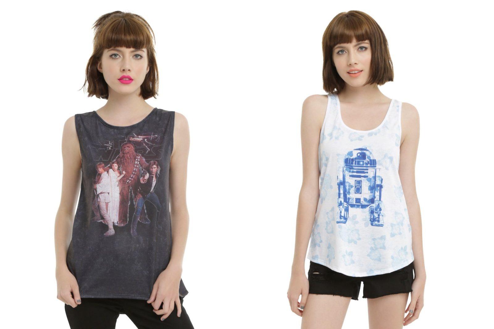 New Star Wars apparel at Hot Topic