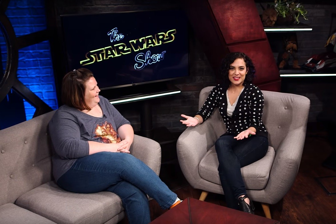 The Star Wars Show - Host Andi with Candace Payne
