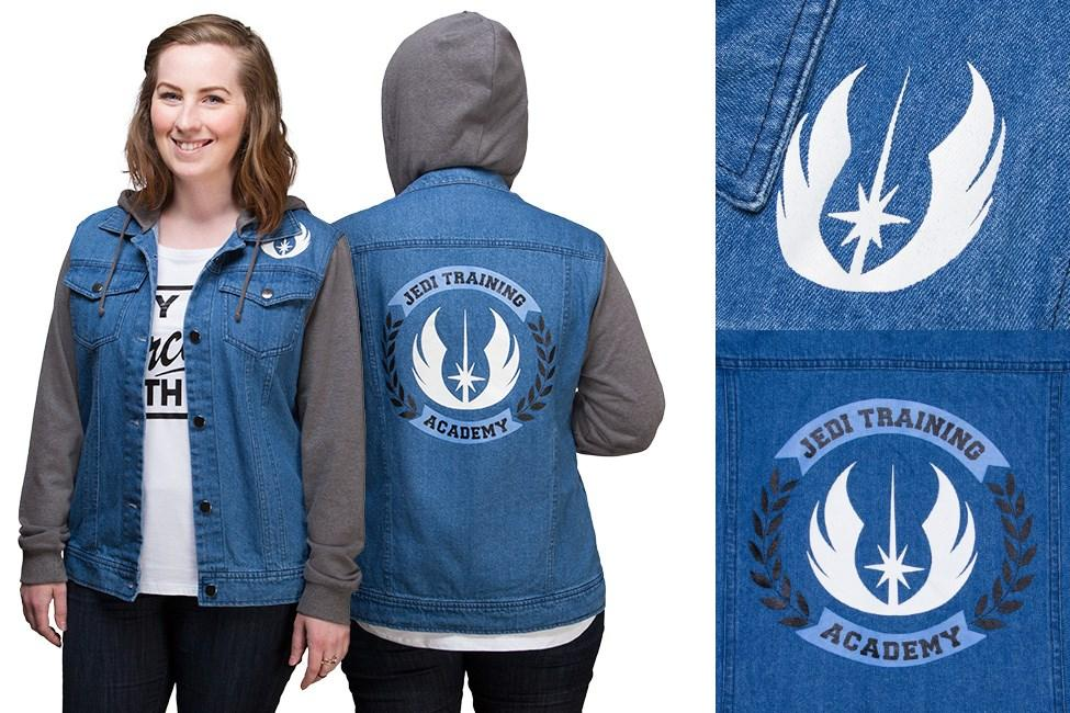 Thinkgeek - women's Jedi Training Academy denim jacket