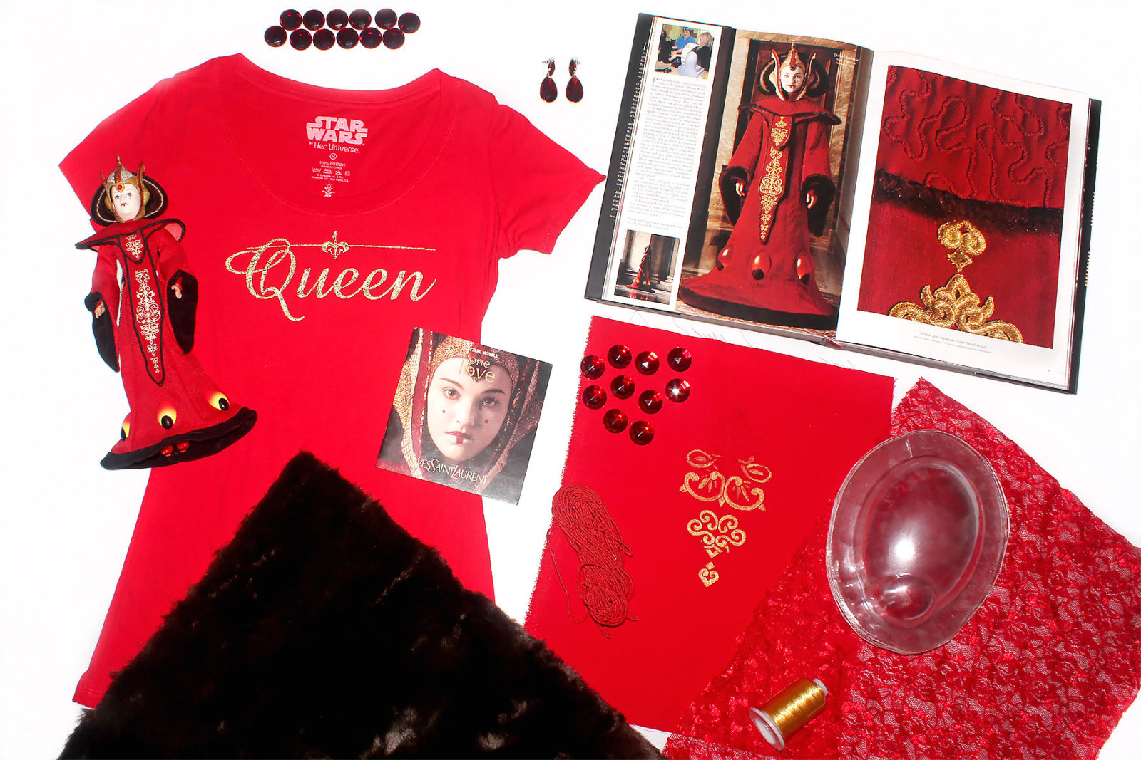 Queen Amidala - Theed Throne Room Gown inspired fashion