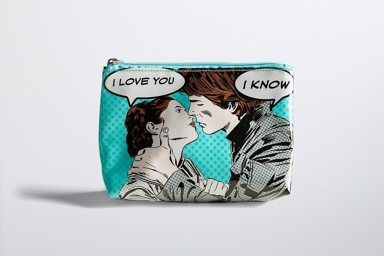 'I Love You' – 'I Know' makeup bag at Torrid