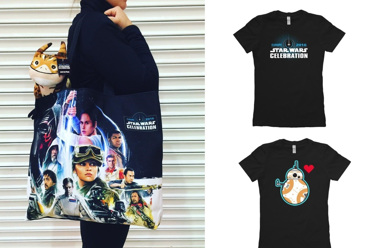 Exclusive apparel at Celebration Europe 2016