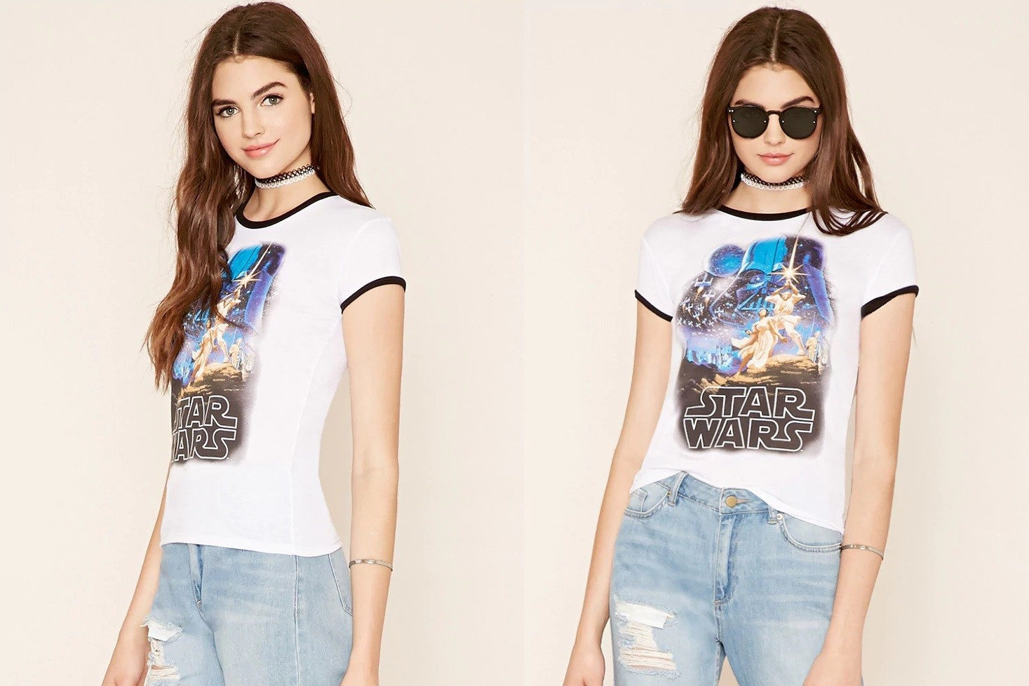 Star Wars graphic tee at Forever 21