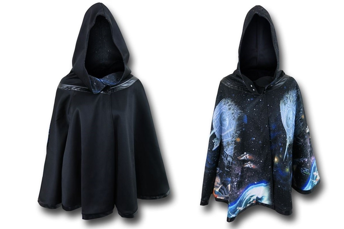 SuperHeroStuff - We Love Fine x Star Wars Death Star reversible cape