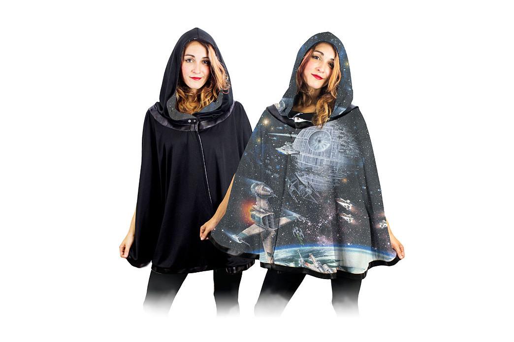 Star Wars Galaxy reversible cape at Thinkgeek