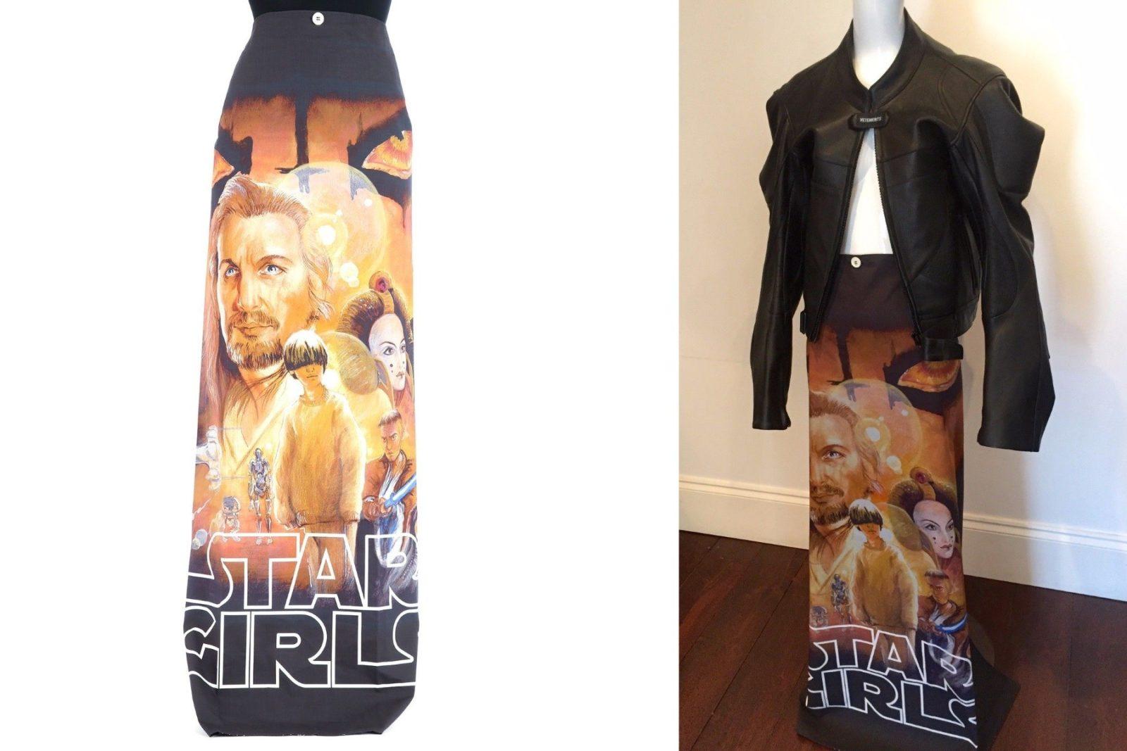 Star Wars inspired Vetements skirt on eBay