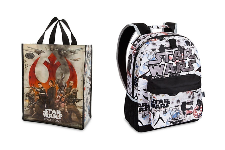 Disney Store - Rogue One tote bag and backpack