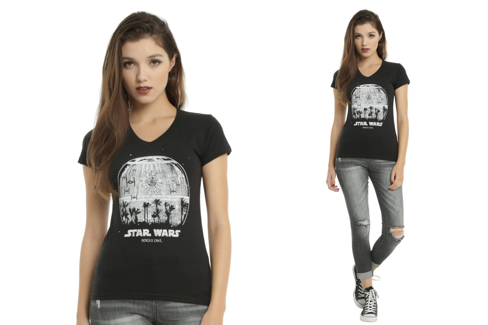 Rogue One Death Star tee at Hot Topic